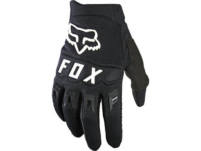 Fox Dirtpaw Guanti Ragazzi, nero/bianco